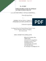Hirschfeld v ATF Reply Brief of Appellants
