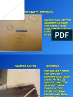 Coating Defects