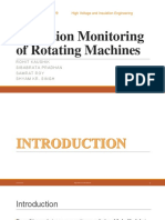 Condition Monitoring of Rotating Machines