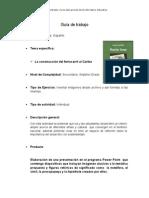 Guia de trabajo de Power Point Guillermo Benavides Rubí