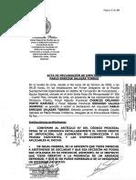 Declaración de Pablo Enrique Salazar Torres al Ministerio Público