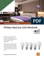 Datasheet - MyCare LED Minibulb