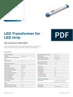LED Transformer 120W 24VDC