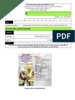 DATOS DE REGISTRO PARA CURSOS EHS Training Services 09
