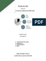 makalah operasi dasar komputer