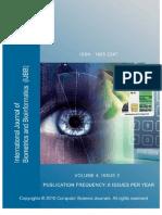 International Journal of Biometrics and Bioinformatics(IJBB), Volume (4)