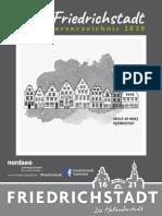 Friedrichsstadt Urlaubsmagazin 2020
