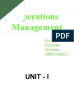 V.P. Arora Operations Mgmt
