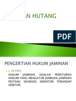 Bahan Kuliah 9 & 10  Jaminan Utang.ppt