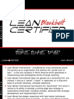Blackbelt Certification Information