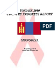 Mongolia 2010 Country Progress Report En