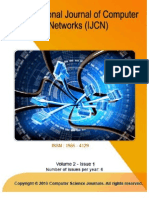 International Journal of Computer Networks (IJCN), Volume (2), Issue (1)