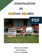 Autoconstrucción de Cocinas Solares