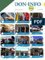 Le PDF de février de l'association Verdon-info