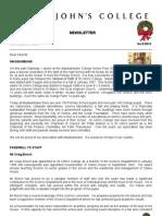 Newsletter 5 Michaelmas Term 2010
