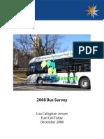 2008 Bus Survey