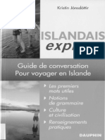 Islandais Express Guide de Conversation