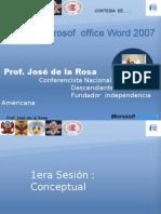1era Sesión Conceptual-jose de la Rosa Vidal- capacitación empresarial