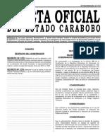 GACETA CARABOBO Nro 7723 RETENCION DEL ITE
