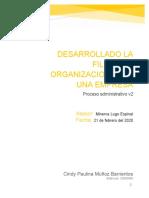 Cindy_Muñoz_EA2_Desarrollado la filosofía organizacional de una empresa