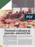 Zoe Petre - Fantezii Culinare Si Pseudo-Istoricii Lor