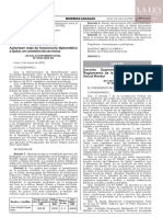 Decreto Supremo N° 007-2020-SA