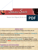 SEMANA SANTA Y VIVENCIA_Tema