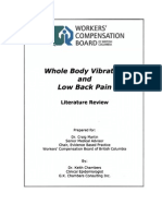 Whole Body Vibration Low Back Pain