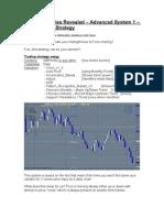 Advanced Forex System #1