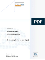 Cybertech Cisco Active IP Integration Manual 2.0