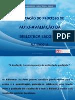Auto-avaliação da BE 2010