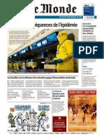 Journal LE MONDE Du Mardi 4 Fevrier 2020