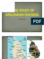 Case Study of Sri-lankan Housing