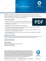 Fund Manager Education