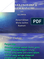 Ekivalen Ekologi & Ppt