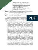 INFORME Nº 028-2016 INFORME DE LAS LABORES REALIZADAS EN HUANCAVELICA DIA 02-03-2016