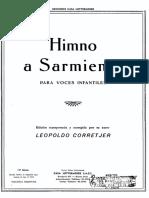 CORRETJER - Himno a Sarmiento
