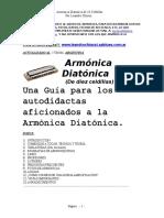 Armónica Diatónica de 10 celdillas  -  Última Actualización
