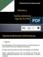 Modulo 4 - Semicondutores Tipo N P e PN