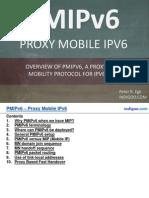 Proxy Mobile IPv6 (PMIPv6)