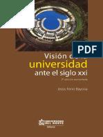 Visión de la universidad ante el siglo XXI.pdf