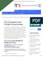 ITIL 4 Foundation Level ITILFND_V4 Exam Dumps – Valid IT Exam Dumps Questions
