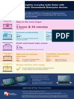 Run longer and complete everyday tasks faster with powerful Dell Latitude Chromebook Enterprise devices - Infographic