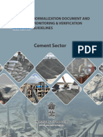 Normalization document and monitoring & verification guidelines