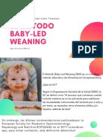 EL MÉTODO BABY-LED WEANING