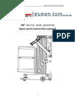 Manual de partes Alo Lift AMP32 y AMP40