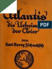 Zschaetzsch Karl Georg - Atlantis. Die Urheimat Der Arier