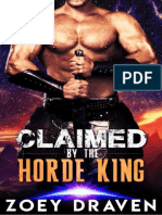 Claimed by the Horde King(Horde Kings of Dakkarr) book 2 by Zoey Draven.pdf