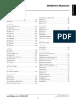 AFL 345-500 KV ALUMINUM ACCESORIES