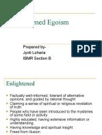Enlightened Egoism